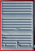 "Youngstown 6 Ft Wide 10' 0"" IH Interim Improved Door"